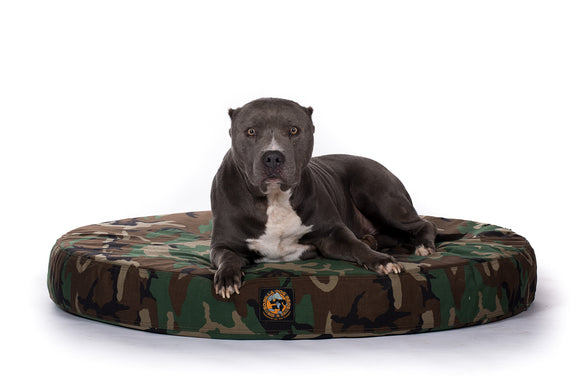 Cordura® Tough Camo Orthopedic Bed - Round
