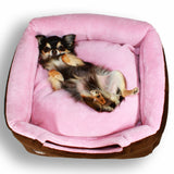 Deluxe Single & Double Door Pop Tent Bed by Hip Doggie