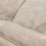Gregg Luxury Round Faux Fur Dog Cushion