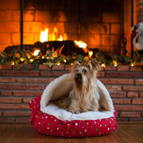 Snoozer Holiday Cozy Cave Dog Bed