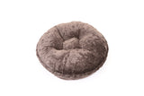 Grey Mink Bagel Bed by Baylee Nasco