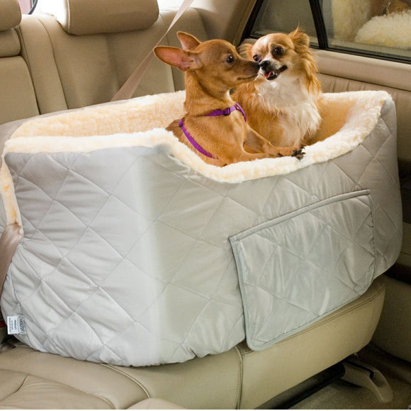 Snoozer Large Lookout 2 Dog Car Seat With Storage Tray