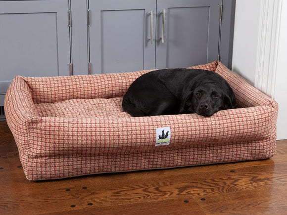 EZ-Wash Lounger Memory Foam Bolster Dog Bed