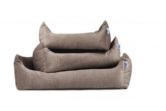 Divine Collection Overstuffed Bolster Dog Bed by Messy Mutts