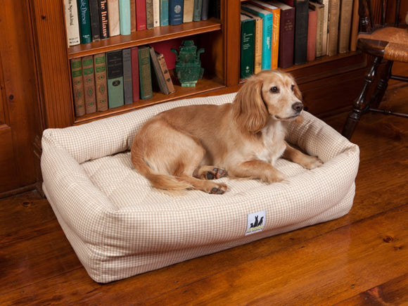 EZ-Wash Premium Lounger Bolster Dog Bed