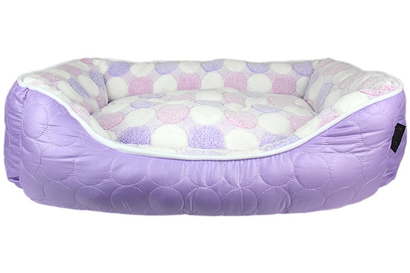 Cotton Candy Nester Dog Bed - Purple