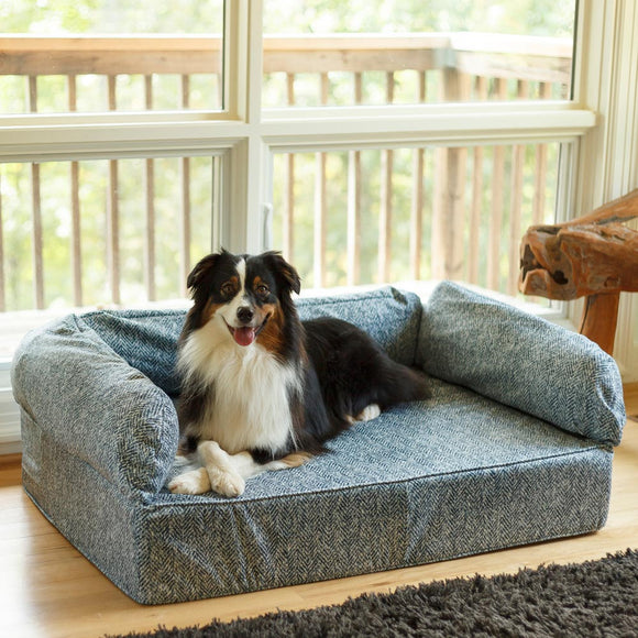 Snoozer Luxury Dog Sofa With Memory Foam – Show Dog Collection