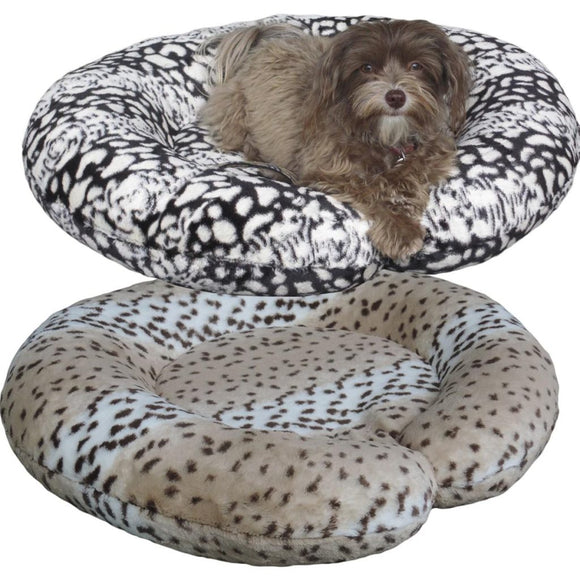 C-Shape Reversible Luxury Dog Beds