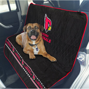 Arizona Cardinals Officially Licensed NFL Car Seat Cover for Dogs