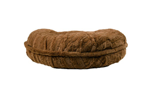Capuccino Mink Bagel Bed by Baylee Nasco