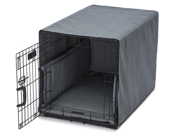 Jax & Bones Textured Linen Crate Cover Ups Dog Beds
