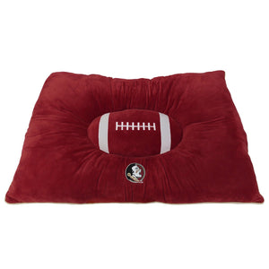 Florida State Seminoles Officially Licensed NCAA Plush Pillow Top Dog Bed