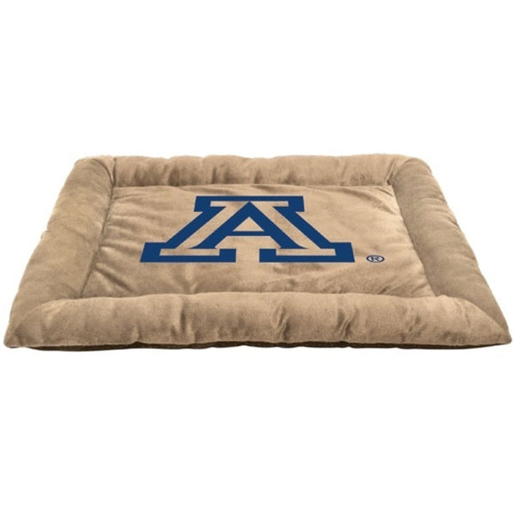 Arizona Wildcats Officially Licensed NCAA Square Dog Bed