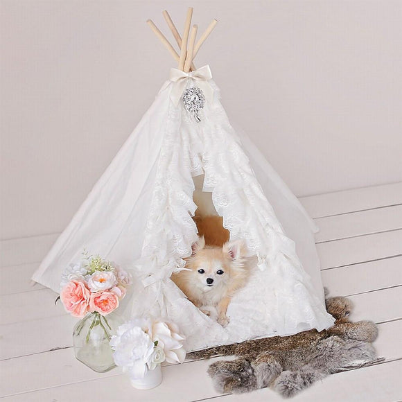 Lullaby Dog Teepee by Hello Doggie