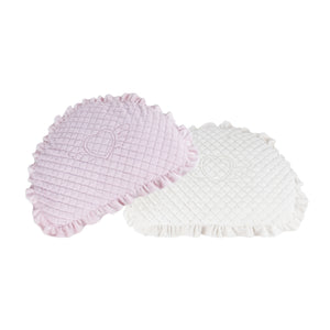 Angel Quilted Faux Fur Cushion Dog Bed by Pinkaholic