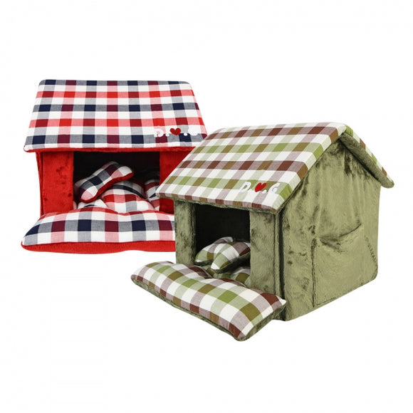 Beaufort House Dog Bed by Puppia