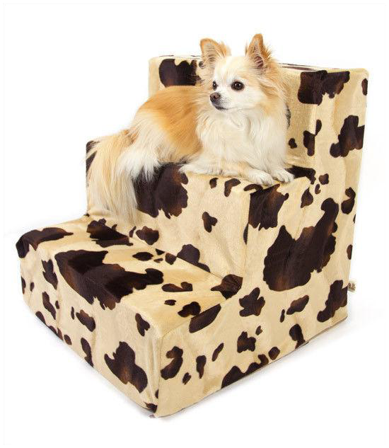 Luxury Plush Dog Steps
