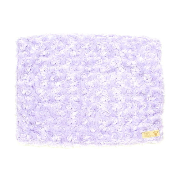French Lavender Curly Sue Dog Blanket