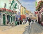 Freeney's, High Street - Fine art giclee print - Freeney's, Galway, Galway City, High Street, Ireland, Latin Quarter, Outside, Quay Street, Street