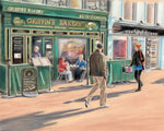 Griffin's Bakery - Fine art giclee print - Bakery, Galway, Galway City, Griffins, Shop, Shop Street, Street, Town