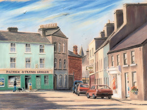 Woodquay, Galway - Fine art giclee print - Bygone times, Galway, Galway City, Old, Townscapes, Woodquay