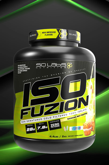 Sci Labs Iso Fuzion - HSD Sports Nutrition