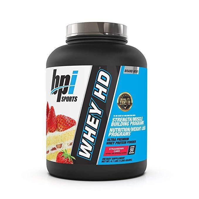 BPI Sports Whey Hd - HSD Sports Nutrition