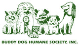 logo for Buddy Dog humane shelter