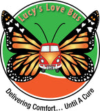 Logo for Lucy's Love Bus children's cancer charity