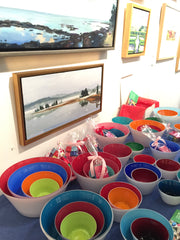 Bowls and Art to benefit Sewpportive Friends