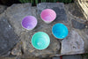 Sky, Lavender, Celadon, Pale Rose Set of Small Bowls