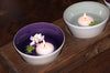 Hyacinth purple glass bowl from Serve Kindness