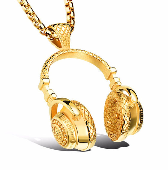 DJ Beats Necklace - Streetwear Jewelry