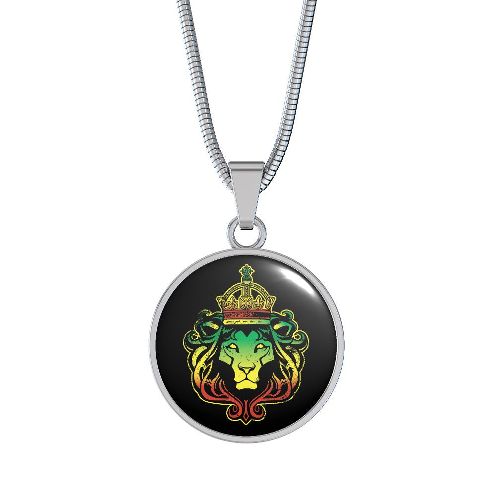 Rasta Lion Necklace - Streetwear Jewelry