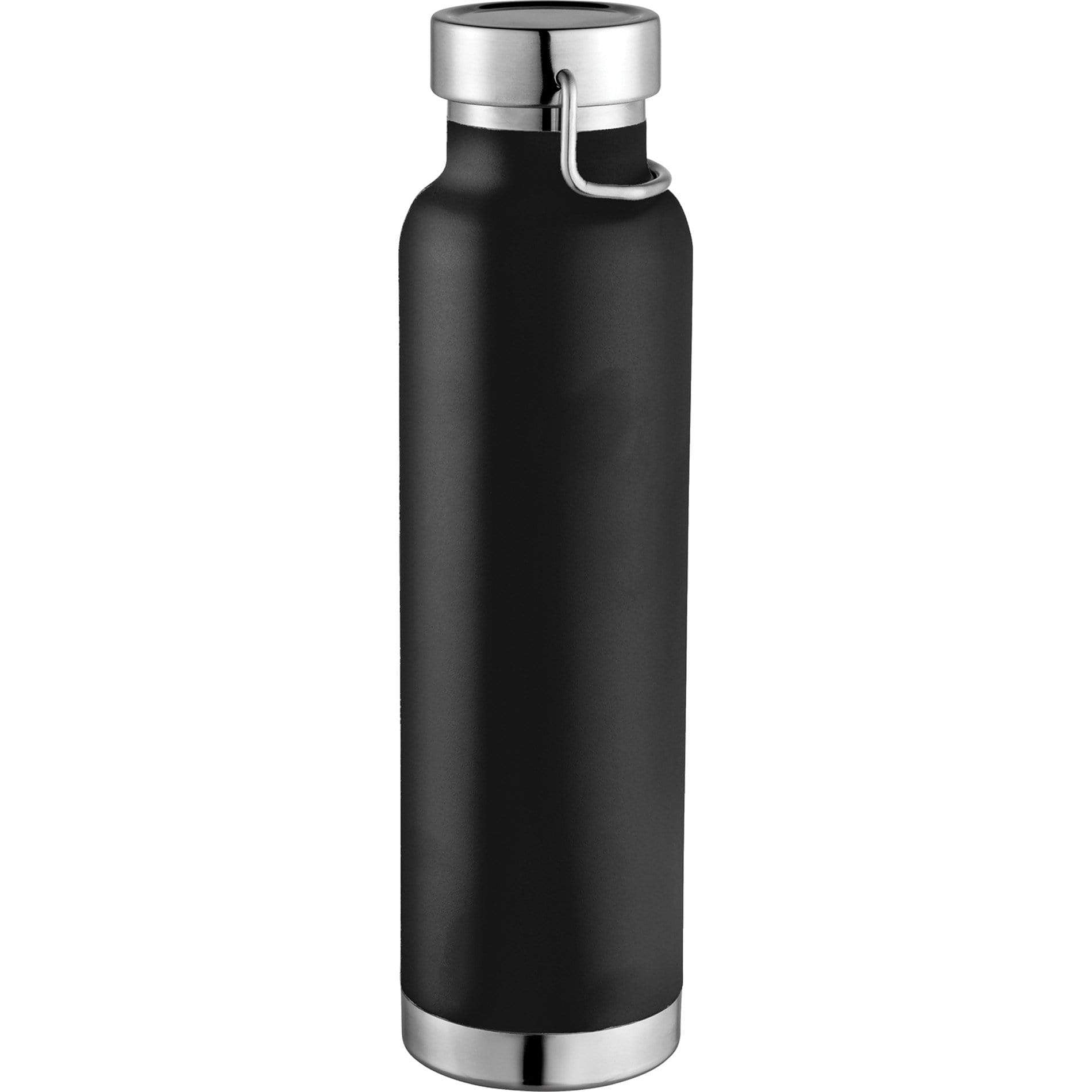 24 piece minimum Accessories 22oz / Black Copper Vacuum Insulated Bottle 22oz