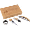 24 piece minimum Accessories One size / Natural 4 Piece Bamboo Wine Gift Set
