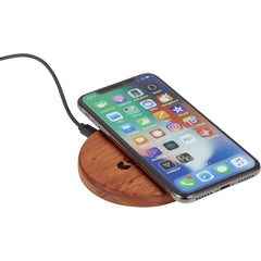 25 unit minimum Non-apparel One size / brown Wooden Wireless Charging Pad
