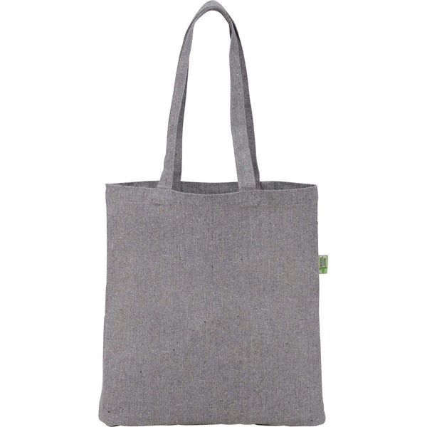 288 piece minimum Bags one size / Grey Recycled Cotton Convention Tote