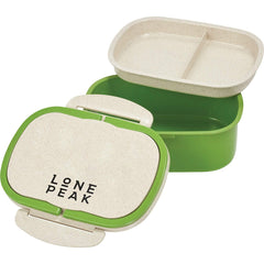 96 piece minimum Accessories One size / Lime Wheat Straw Lunch Box Container