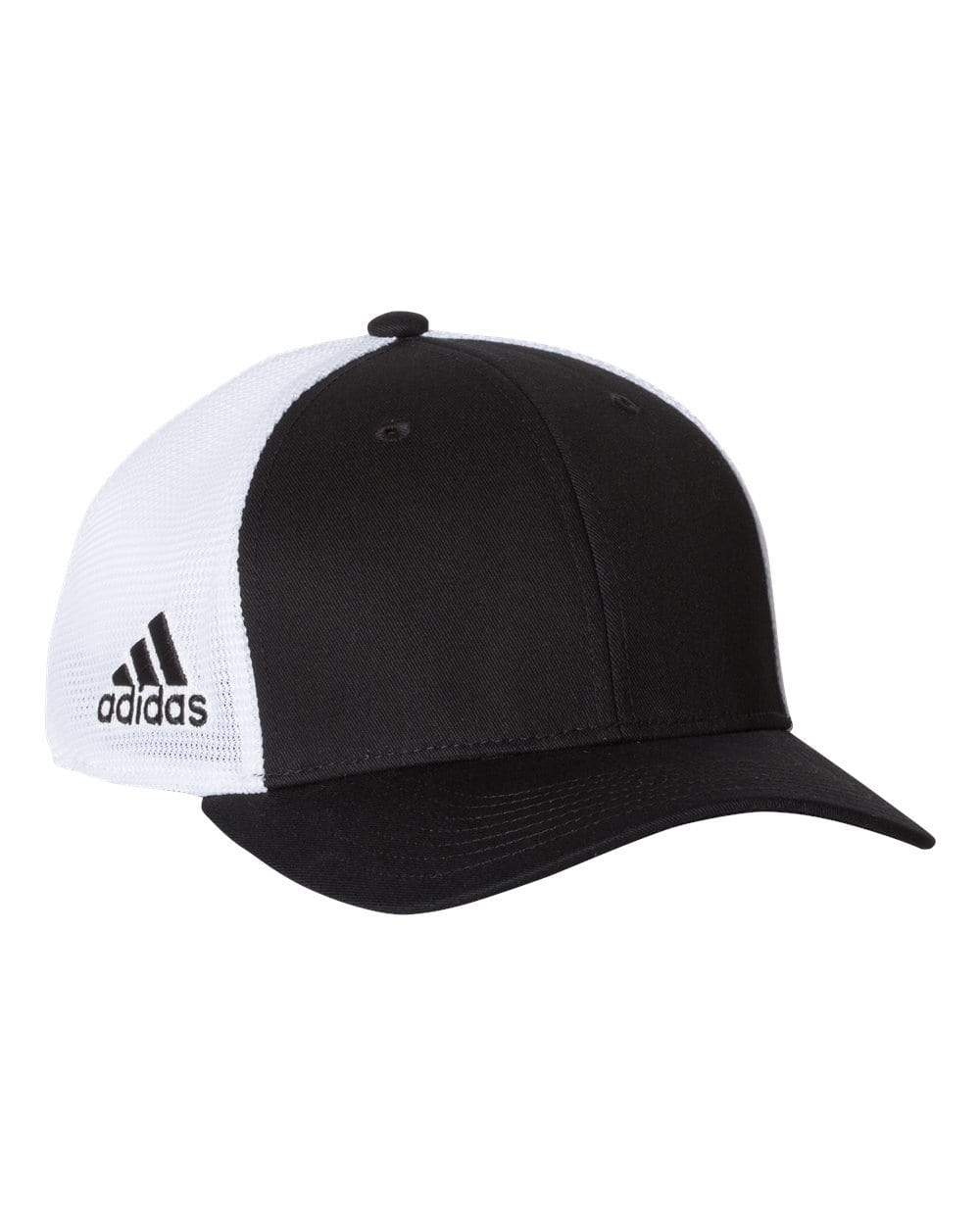adidas Headwear One size / Black / White Adidas - Mesh-Back Colorblocked Cap