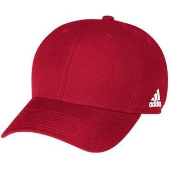 adidas Headwear OSFA / POWER RED adidas Structured Adjustable Cap