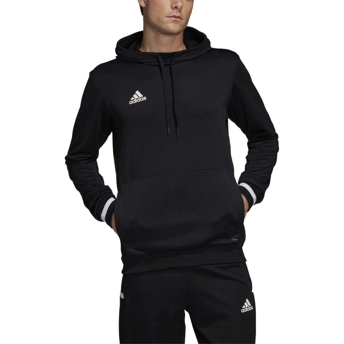 adidas Sweatshirts S / Black Adidas - Men's Team 19 Hoody