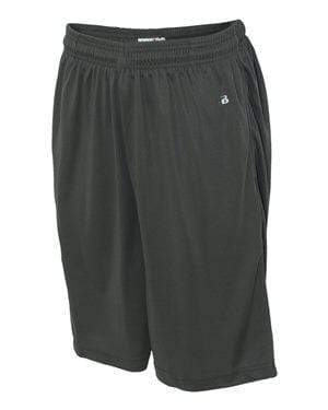 Badger Sport Bottoms S / GRAPHITE Badger - B-Core Pocketed Shorts