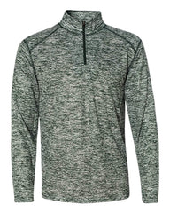 Badger Sport Layering S / FOREST Badger Men's Blend Quarter-Zip Pullover