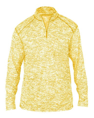 Badger Sport Layering S / GOLD Badger Men's Blend Quarter-Zip Pullover