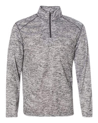 Badger Sport Layering S / GRAPHITE Badger Men's Blend Quarter-Zip Pullover