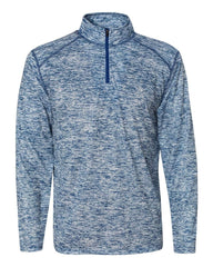 Badger Sport Layering S / ROYAL Badger Men's Blend Quarter-Zip Pullover
