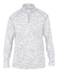 Badger Sport Layering S / SILVER Badger Men's Blend Quarter-Zip Pullover