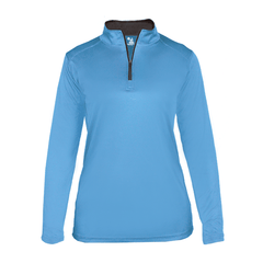 Badger Sport Layering XS / COLUMBIA BLUE Badger - B-Core Ladies Quarter-Zip