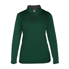 Badger Sport Layering XS / FOREST Badger - B-Core Ladies Quarter-Zip